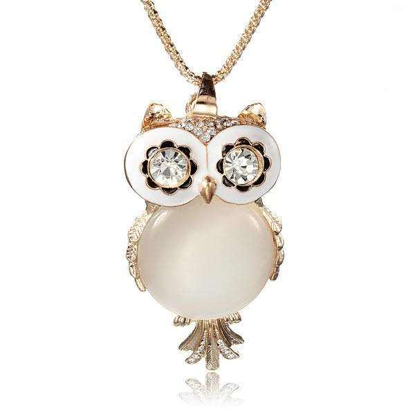 Twit twoo pearla necklace