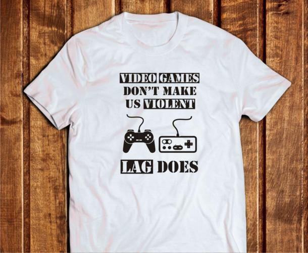 T-shirt: video games, gamer shirt, gaming shirt, graphic ...