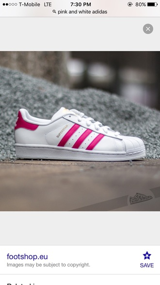 shoes pink and white supersta adidas adidas shoes