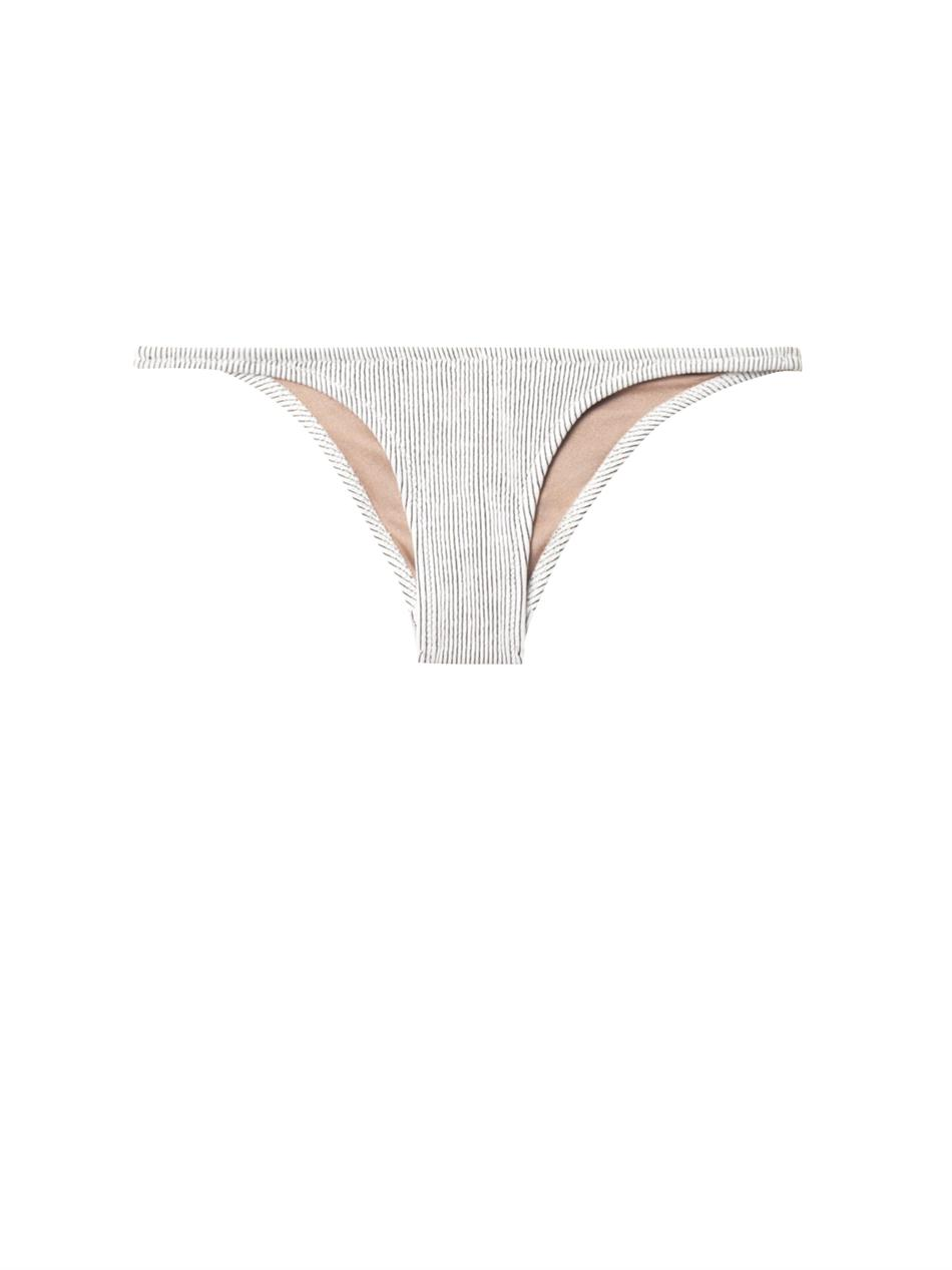 Petal textured stripe bikini briefs | Made by Dawn | MATCHESFA...