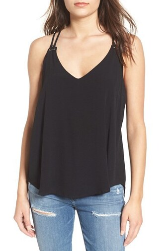 top elodie tank top blouse black