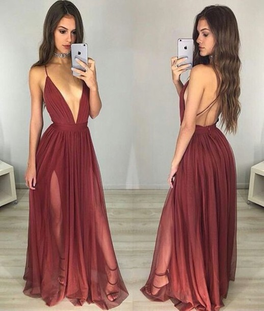 Prom Dress Cleavage