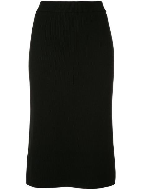 Estnation skirt pencil skirt women black
