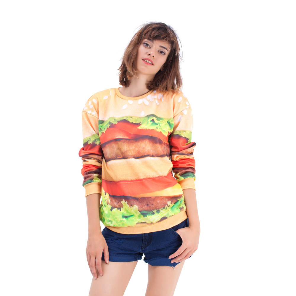 Hamburger sweater / Mr. Gugu & Miss Go