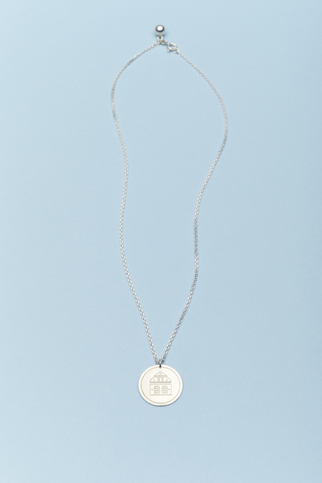 b56 x Trine Tuxen necklace, silver | B56
