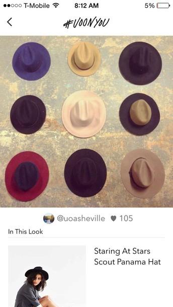 hat fashion fedora hat