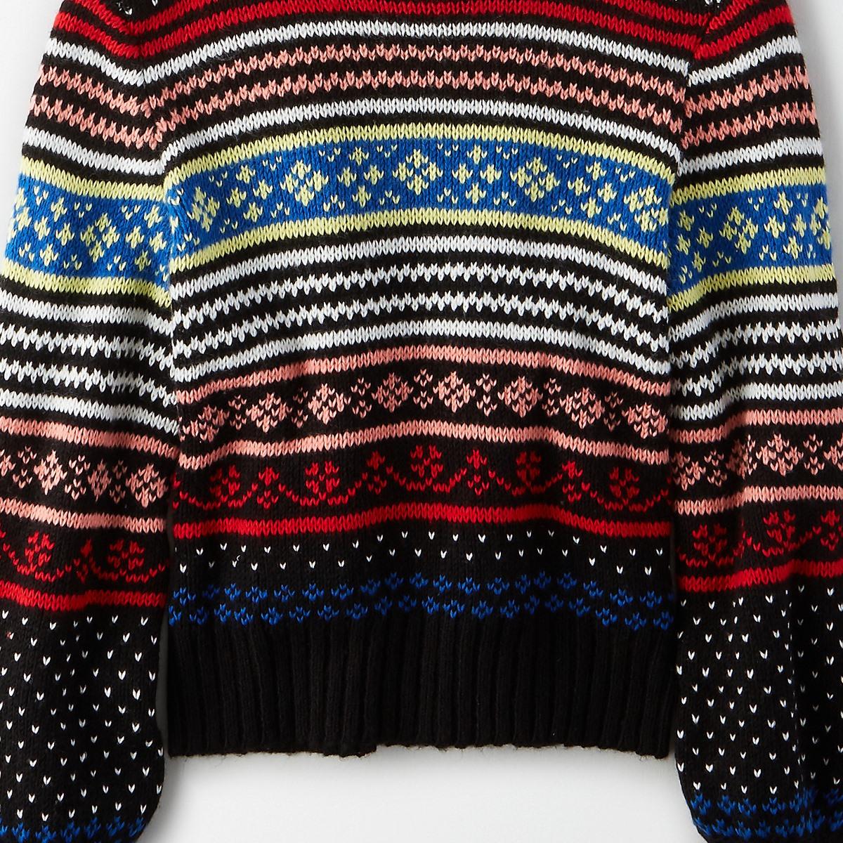 AEO Fairisle Pullover Sweater
