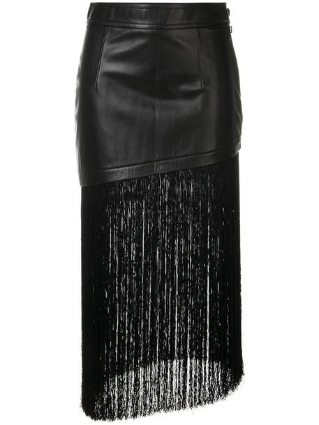 Helmut Lang skirt asymmetrical women black