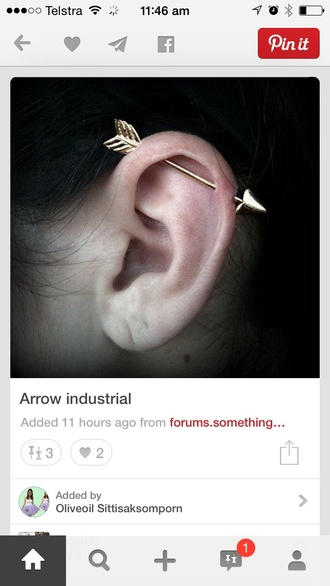 jewels earrings jewelry arrow