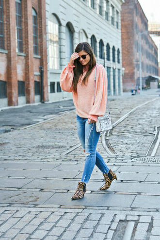 to be bright blogger jeans shoes bag sunglasses