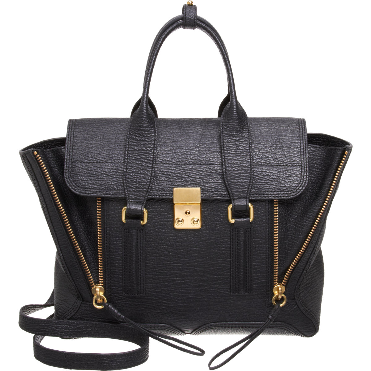 3.1 Phillip Lim Medium Pashli Satchel with Strap at Barneys.com