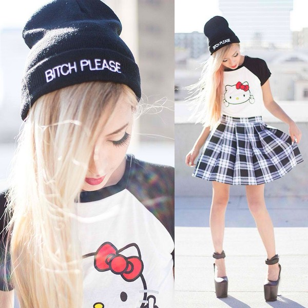 244b4623608aa Hello Kitty Burnout Crop Top Tee