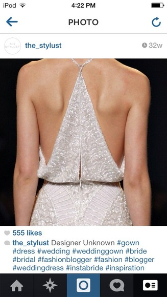 dress prom dress runway sparkles wedding dress pretty white dress designer razorback sequin dress white cream, dress, sparkle, open back, beautiful,