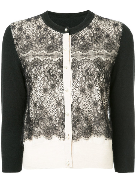 cardigan cardigan women lace black sweater