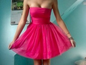 dress,pink,prom dress,pink dress,pink summer dress,short,bandeau,funny,strapless dress,summer dress,flowy dress,pretty in pink,soft ghetto,hahaha,lmao,funny shirt,laughing out loud,kitty dress,dressy,babe,2014,full length,forever,hill,model,heart,ball,sparkle,sequins