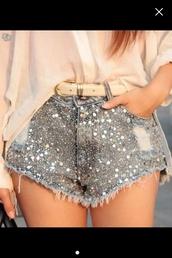 shorts,glitter,sexy,cool,short party dresses,short prom dress,strass dress,strass paillettes l,strass,embellished,embellished denim