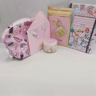home accessory yeah bunny notebook cute pastel new york city tumblr