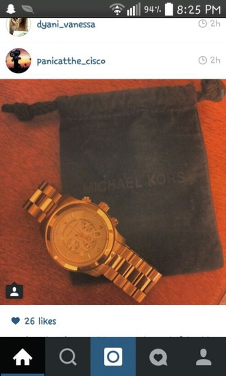 jewels michael kors watch gold watch jewls jewelry girl guys female menswear