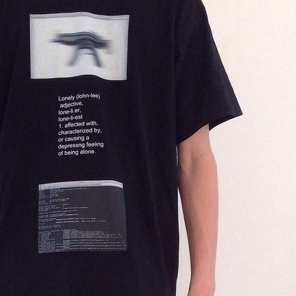 hipster grunge cool gun t-shirt