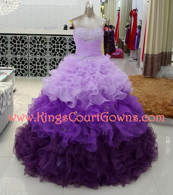 Replica beaded ruffle organza corset prom quinceanera dress gown