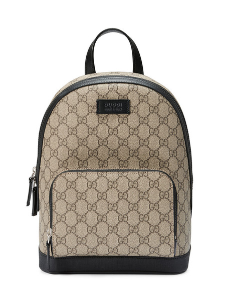 gucci women backpack leather brown bag