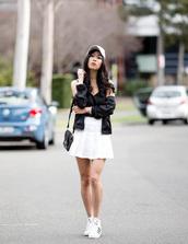 metallic paws,blogger,tank top,jacket