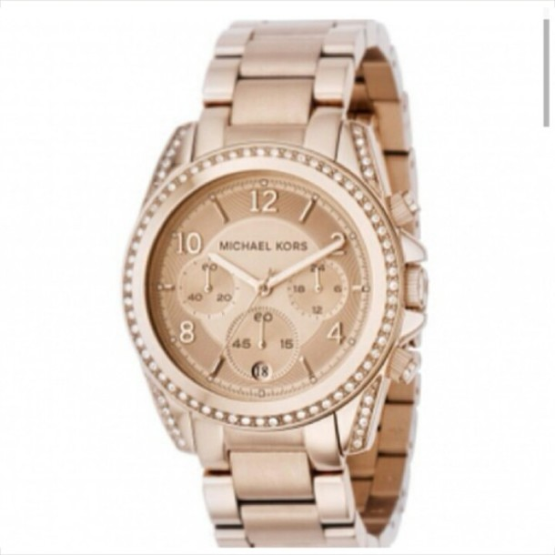 jewels watch gold michael kors gold watch watch