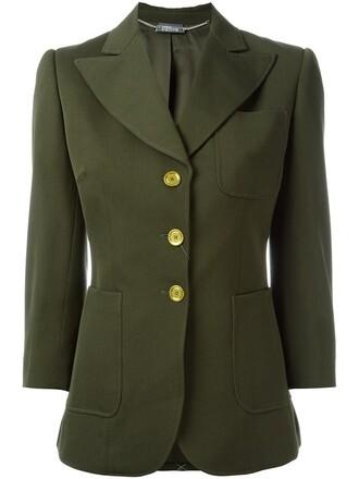 blazer green jacket