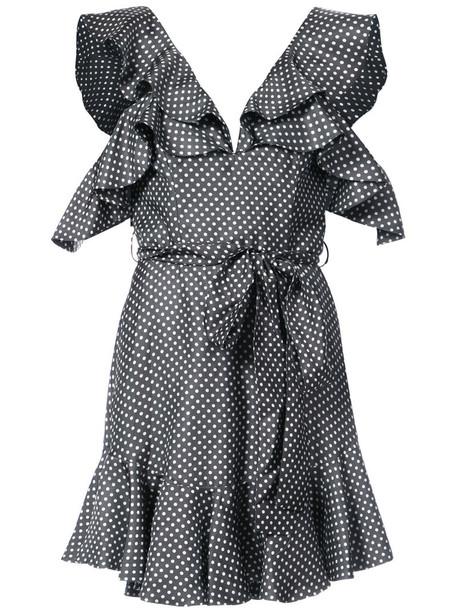 Zimmermann dress mini women silk grey