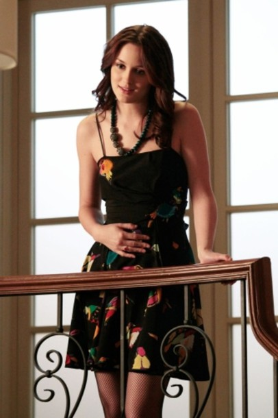 blair waldorf gossip girl leighton meester dress jewels