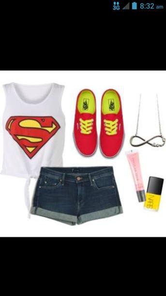 shirt vans shorts accessories