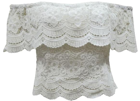 Romance lace top