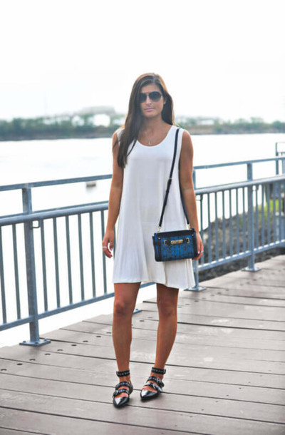 to be bright blogger dress bag