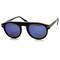 European mirror revo lens round p3 retro aviator sunglasses 8758