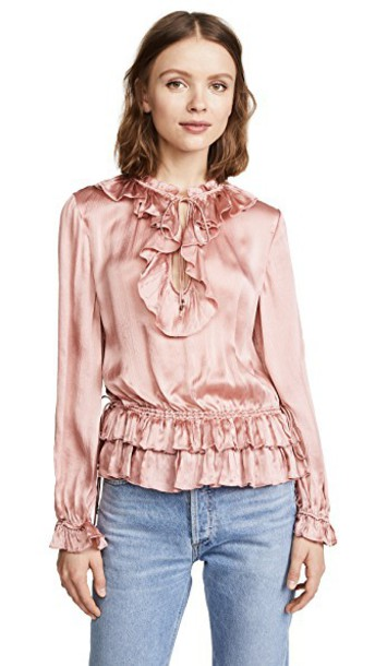 Ulla Johnson blouse rose top