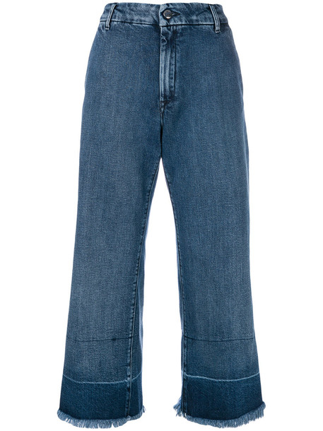 The Seafarer jeans high women spandex cotton blue