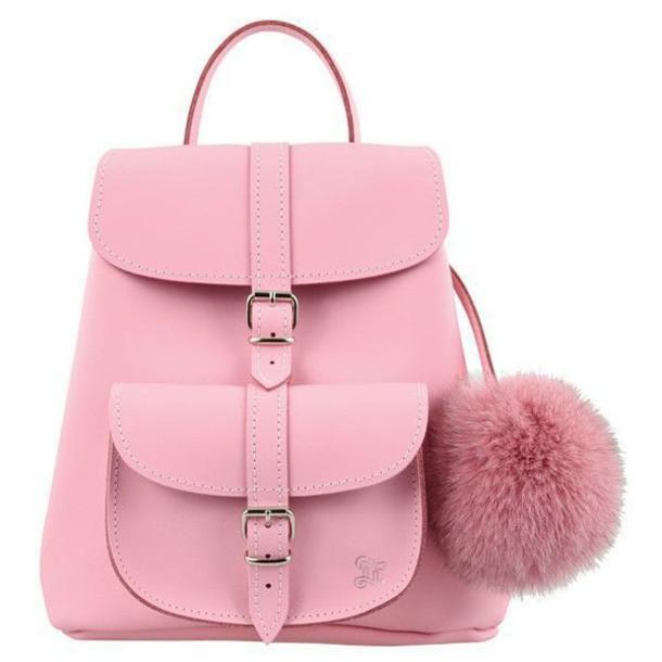Bag: tumblr, aesthetic, pink, pretty, bookbag, cute - Wheretoget
