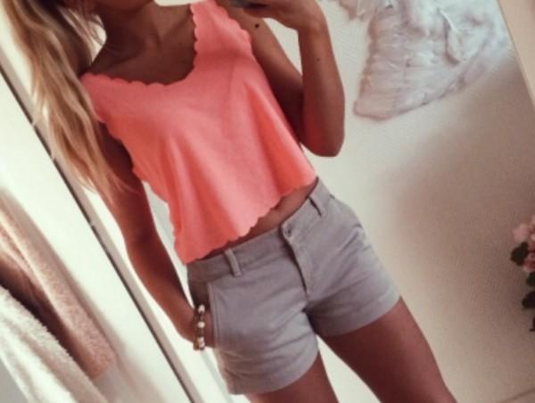 top girly shorts