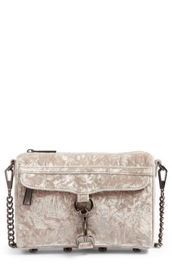 f425d42e5281 Rebecca Minkoff Mini MAC Velvet Convertible Crossbody Bag ...