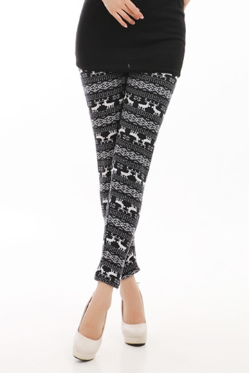 Cute Little Deers Pattern Legging [FBBI00138]- US$ 5.76 - PersunMall.com