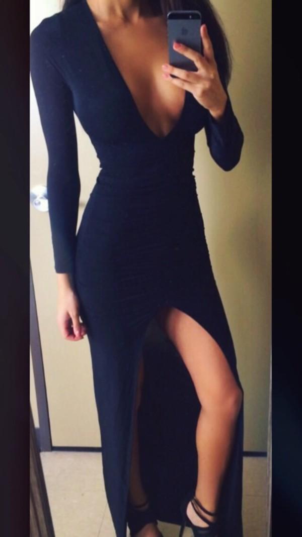 Maxi Dress Long Dress Dress Black Maxi Dress Elegant Dress