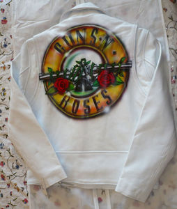 Guns And Roses Rare Axl S New White Or Black Leather