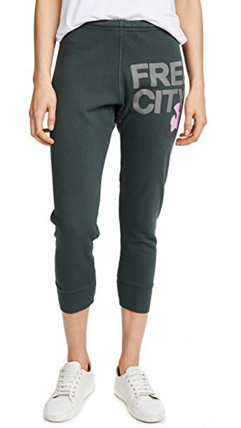 FREECITY sweatpants pants