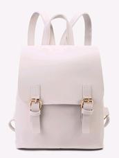 bag,off-white,cute backpack,backpack,mini bag