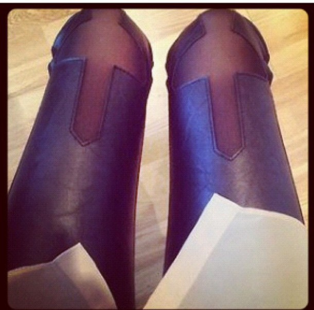 pants cross leather pants leggings