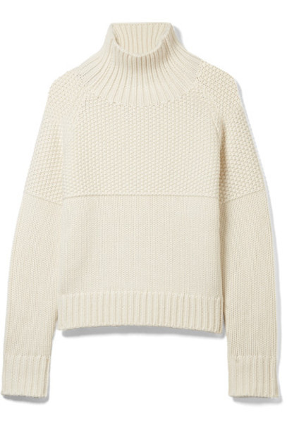 Burberry sweater turtleneck turtleneck sweater white off-white