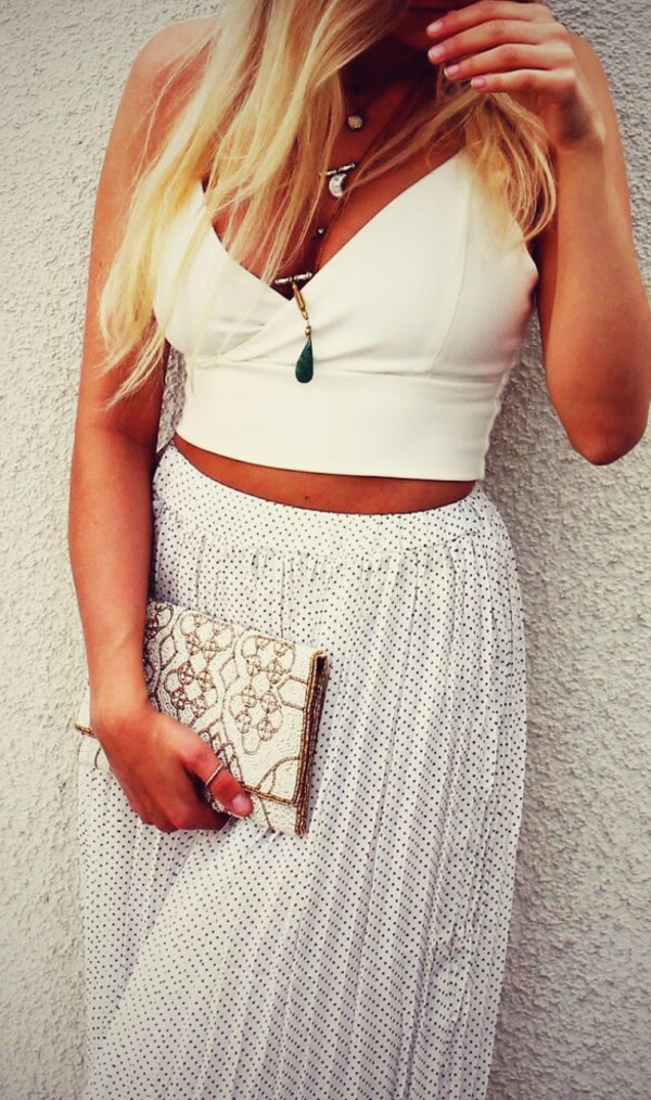 shirt white hippie boho boho chic gypsy crop tops pants skirt