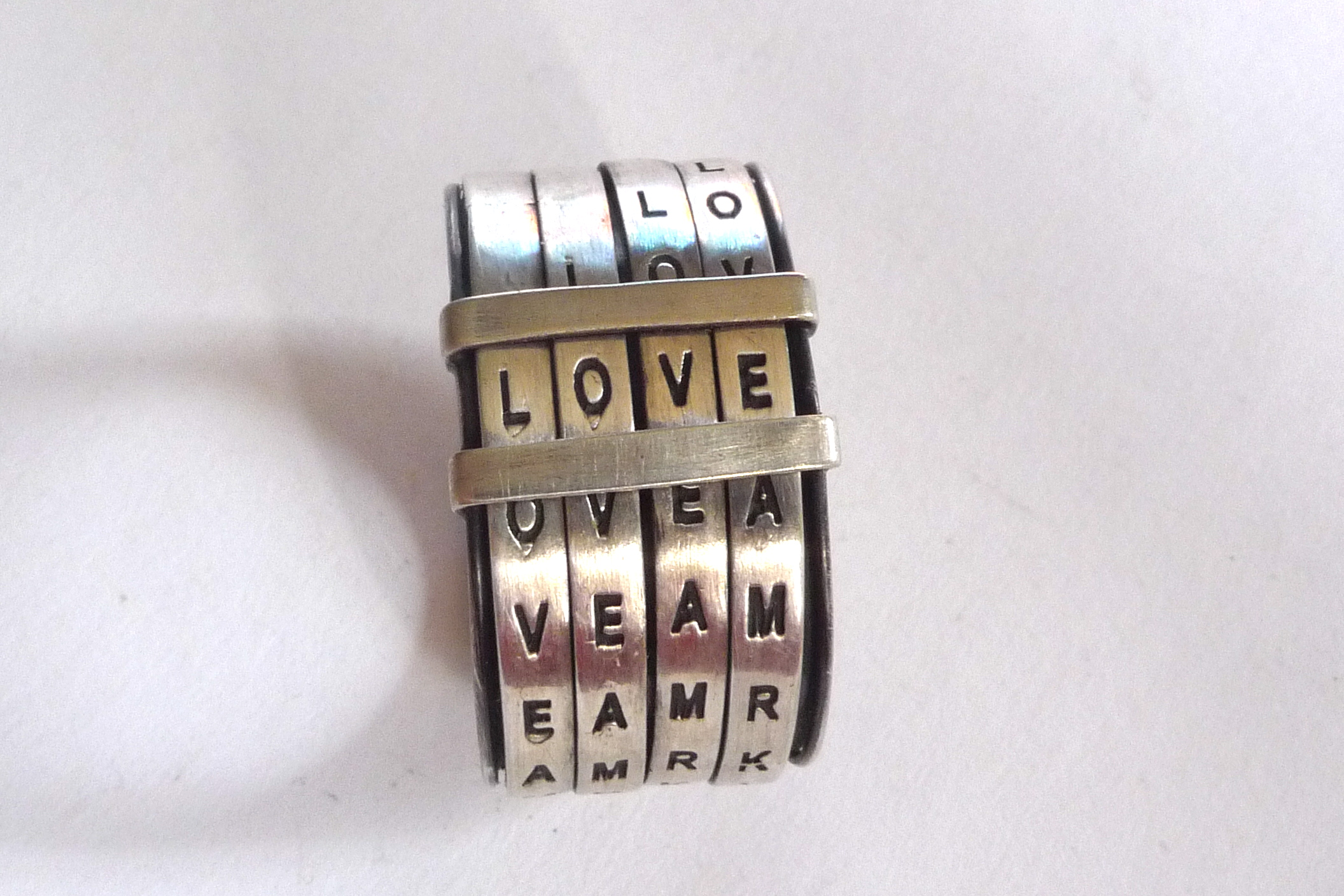 Love ring  from  : metalnat : by natalia gomensoro