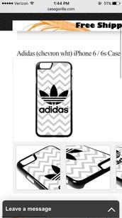 phone cover,adidas phone case,chevron wht