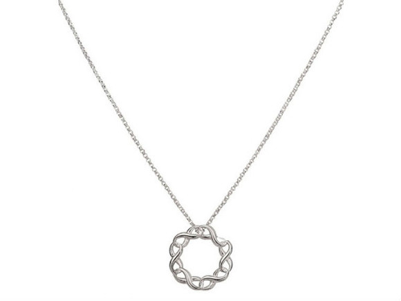 jewels necklace silver support